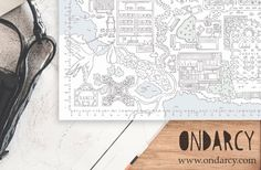 Personalized map of your own life // Mapa personalizado de tu vida.