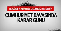 """Cumhuriyet davası kararı duruşmadan son haberler  """"Cumhuriyet davası kararı duruşmadan son haberler"""" http://fmedya.com/cumhuriyet-davasi-karari-durusmadan-son-haberler-h57811.html"""