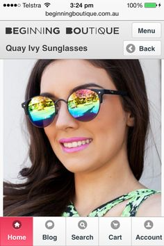 I need a new pair of sunglasses too