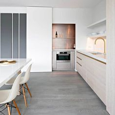 This Bruges based apartment in Belgium designed by Obumex is the epitome of a minimalistic, timeless style. … Read More