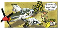 Can any fluent French speakers translate the humour in this aviation cartoon please? Airplane Humor, Airplane Art, Women In History, Ancient History, Caricatures, Planes Characters, Cartoon Plane, Pilot Humor, P51 Mustang