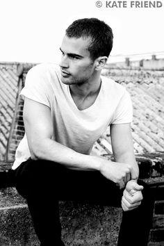 Theo James is Tobias Eaton. Lord...