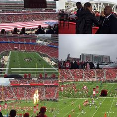 Great day at Levi's Stadium! Even with the rain. We welcome rain  great win #49ers