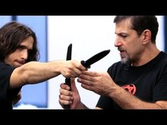 ▶ How to Defend against a Straight Stab | Krav Maga Defense - YouTube