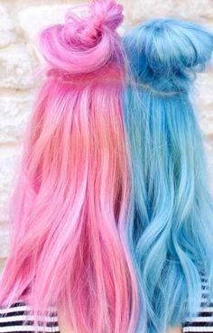 27 Summery Hot Hairdos For Short Hair - Hair - Hairdos Ideas Cute Hair Colors, Pretty Hair Color, Hair Dye Colors, Vivid Hair Color, Hairdos For Short Hair, Short Hair Styles Easy, Pretty Hairstyles, Teenage Hairstyles, Hairstyles Videos