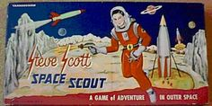 Steve Scott Space Scout: A Game of Adventure in Outer Space