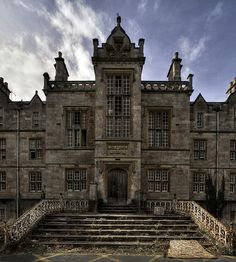 Denbigh Asylum in North Wales, abandoned since 1995.