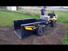 Homemade Cub Cadet dump truck - YouTube