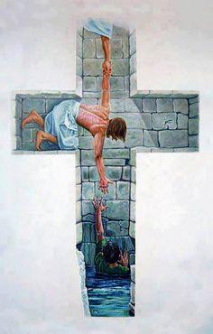 la cruz de la salvacion
