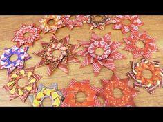 DIY Weihnachtssterne aus Teepapier 🌟 Deko Sterne mit Teapaper Folding | Advents DIY Idee - YouTube Xmas Crafts, Advent, Mandala, Christmas Tree, Wreaths, Seasons, Stars, Holiday Decor, Flowers