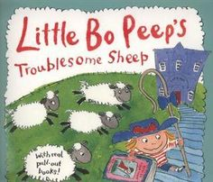 Little Bo Peep can't find here sheep, maybe the library will help.