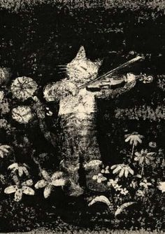 Komako Sakai (Japanese, b. 1966). Illustration (detail) from The Bear and the Wildcat.