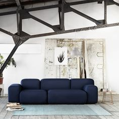 Soft Blocks sofa by Muuto.