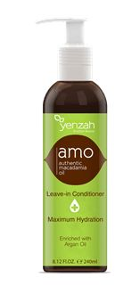 Yenzah Brazilian Beauty Authentic Macadamia Oil Maximum Hydration Leave In Conditioner 8.12 Ounce