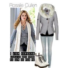 """Twilight Fashion: Rosalie Cullen"" by catlyp on Polyvore"