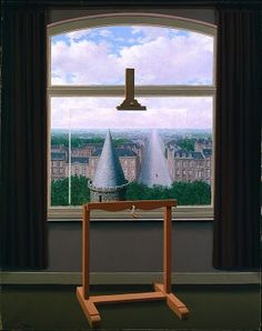 The Promenades of Euclid    Rene Magritte 1955 -- owned by the Minneapolis Inst of Art