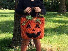 Pumpkin Candy bag for halloween!