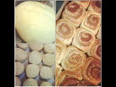 Rosca de canela e pão doce com massa econômica. - YouTube