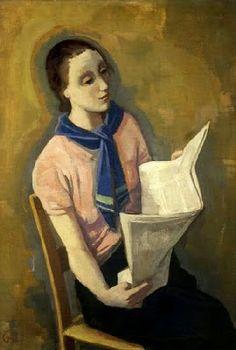 Reading and Art: Karl Hofer