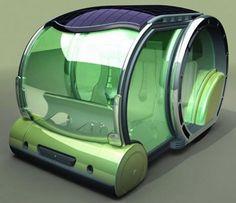 Solar powered concept car for 2030