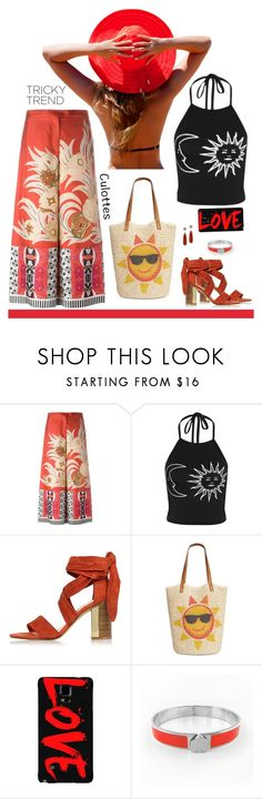 """""""Hello Sunshine! Where have you been hiding?"""" by molly2222 ❤ liked on Polyvore featuring Etro, River Island, Style & Co., Samsung, Christina Debs, TrickyTrend and culottes"""