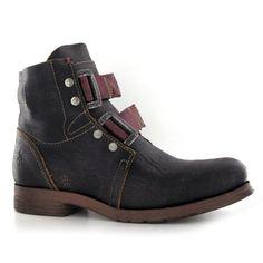 i kinda like them. Fly London Skinner Black Leather Mens Boots