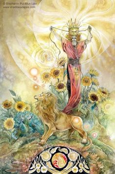 Horoscope Card LEO