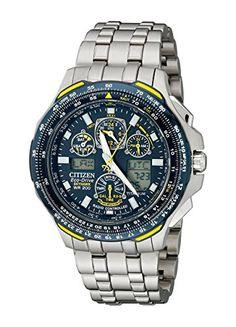 Citizen Men's JY0050-55L Blue Angels Skyhawk A-T Titanium Eco-Drive Watch - http://www.darrenblogs.com/2016/12/citizen-mens-jy0050-55l-blue-angels-skyhawk-a-t-titanium-eco-drive-watch/