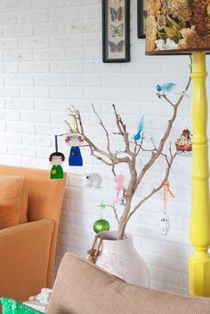 Great free Christmas tree idea!