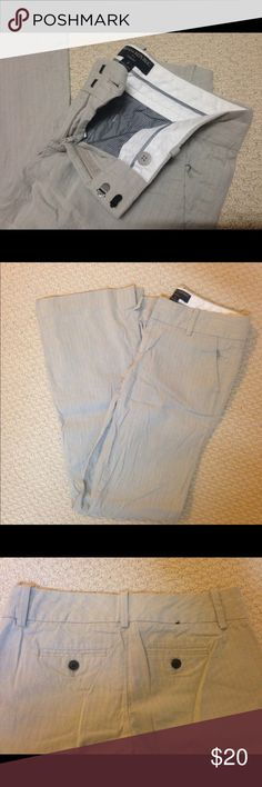 """Banana Republic Dress Pants Size 2 """"Ryan Fit"""". Flattering at the waist and thighs, mild flare bottom. Really cute but I just don't need them anymore. Only worn for a few job interviews, in great condition. Sorry for the wrinkles, they need to be ironed! Banana Republic Pants"""