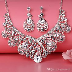 Beauty Silver Flower Pearls Bridal Necklace Tiara Earring Suits Jewelry Suits Wedding Bridal Jewelry P419004 Cheap Wedding Jewelry Engagement Wedding Rings From Happiness2050, $18.8| Dhgate.Com
