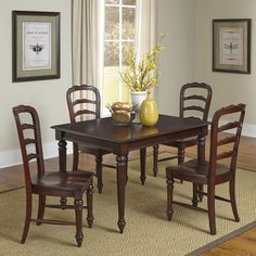 Home Styles Colonial Classic Dining Set