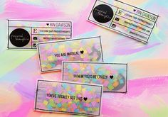 DIY Business Cards That Will Get You Noticed, For Sure - visitenkarten - Fashion Business Cards, Free Business Cards, Unique Business Cards, Craft Business, Business Card Logo, Business Card Design, Diy Confetti, Bussiness Card, Grafik Design