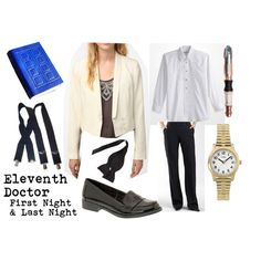"""Eleventh Doctor (date outfit)"" by doctorwhodressing on Polyvore"