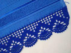 Crochet Boarders, Crochet Patterns, Borboleta Crochet, Coin Purse, Crafts, Applique Towels, Crochet Dishcloths, Crochet Fruit, Crochet Borders