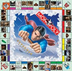 MONOPOLY: SUPERMAN RETURNS™ Collector's Edition | USAopoly