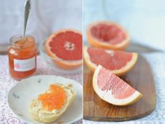 Bittersüße Grapefruitmarmelade