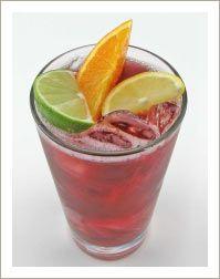 Mediterranean Red Citrus Wine Cooler
