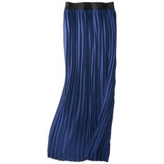 Merona® Women's Georgette Pleated Maxi Skirt - Assorted Colors