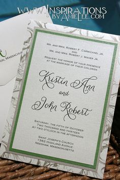 I like the green and silver borders and the font but not the very outside border :)