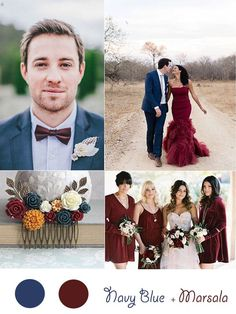 2015 Hot Winter Wedding Color Ideas And Invitations -InvitesWeddings.com