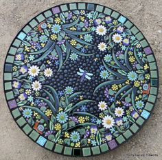 Mosaic table by Rocky Canyon Tileworks
