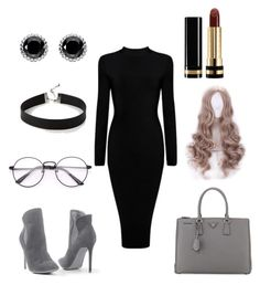 """🎶"" by danaakhaled ❤ liked on Polyvore featuring Venus, Prada, Express, Thomas Sabo, WithChic and Gucci"
