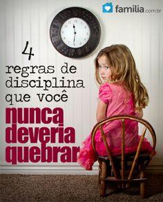 Disciplinar não é algo fácil. Siga estas regras que lhe ajudarão com as tarefas. Disciplinar é algo difícil. Você nunca sabe quando está sendo muito r...