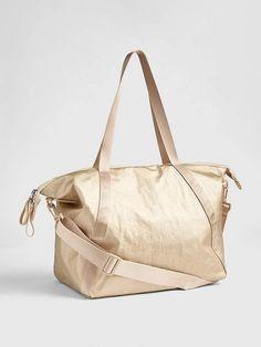 b13c00e509 Gap GapFit Metallic Weekender Bag Gap Women, Shopping Totes, Wardrobe  Staples, Luggage Bags