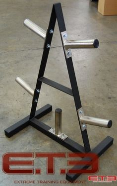 A-FRAME WEIGHT TREE MADE TO HOLD OLYMPIC PLATES