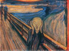 Wallpaper of Edvard Munch for fans of Fine Art. Scream by Evard Munch