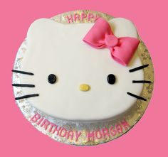Hello Kitty Cake Photo                                                                                                                                                                                 More