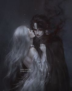"""""""It's true, You are stronger, wiser, infinite in experience."""" """"But I am an apt pupil."""" Finish an old sketch of Alina and The Darkling, I… Book Characters, Fantasy Characters, Character Inspiration, Character Art, Gothic Fantasy Art, Medieval Fantasy, Fantasy Artwork, Final Fantasy, The Darkling"""