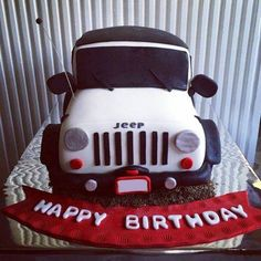 jeep birthday cake jeep birthday party ideas ollies jeep don jeep . 16 Birthday Cake, Happy Birthday, 16th Birthday, Birthday Greetings, Birthday Ideas, Birthday Parties, Fancy Cakes, Cute Cakes, Jeep Mirrors